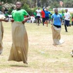 Sack Race during Sports Day